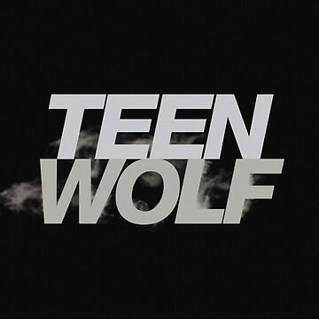Teen wolf white on black by Fl0werdauqhter