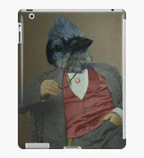 Gentlemen's club of exquisite plumage. iPad Case/Skin
