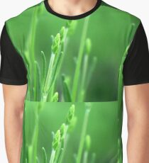 Green Lavender  Graphic T-Shirt