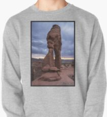 Stormy Sunset - Delicate Arch - Moab - Utah Pullover