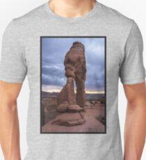 Stormy Sunset - Delicate Arch - Moab - Utah Unisex T-Shirt