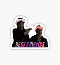 Transparents II- Best Friends Sticker