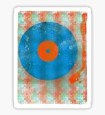 Pop Vinyl Record Turntable Sticker