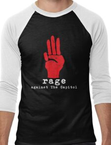 Rage Against The Capitol Men's Baseball ¾ T-Shirt