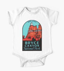 Bryce Canyon National Park Utah Vintage Travel Decal Kids Clothes