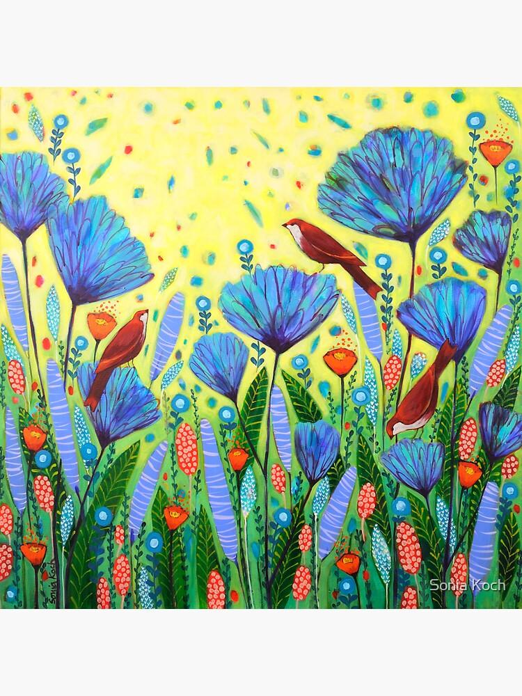 Spring in Blue de SoniaKoch