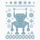 winter robot by manikx