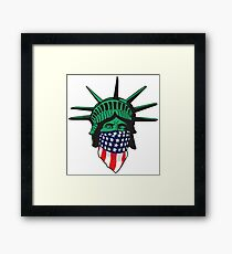 Statue of Liberty USA Framed Print