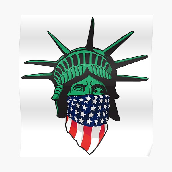 Statue of Liberty USA Poster