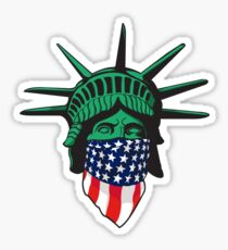 Pegatina Estatua de la libertad de Estados Unidos