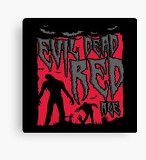Evil Dead Red Ale Beer Canvas Print