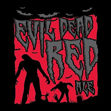 Evil Dead Red Ale Beer by 108dragons
