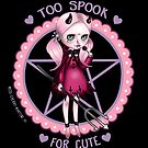 Too Spook for CUTE (Full Body) by Miss Cherry  Martini
