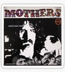 Mothers of Invention Absolutely Free, Original Mono lp Sticker