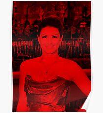 Gina Carano - Celebrity (Life Pose) Poster