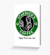 Starbuck's Coffee Greeting Card