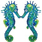Seahorses Together by Wendy Eriksson