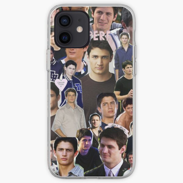 nathan scott collage iPhone Soft Case