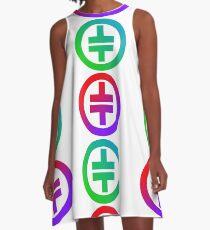 Take That Symbol A-Line Dress