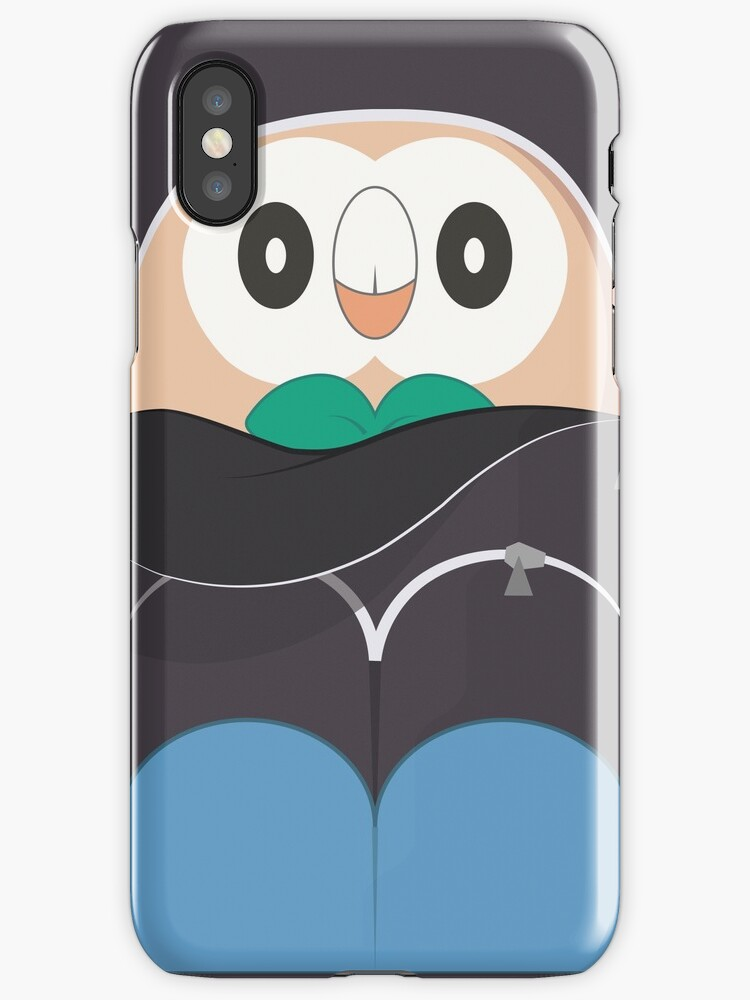 Rowlet Backpack Phone Case by luigis-stashe