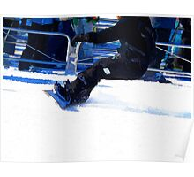 Quot Snowboarder Skidding Winter Sports Gift Quot Art Boards By