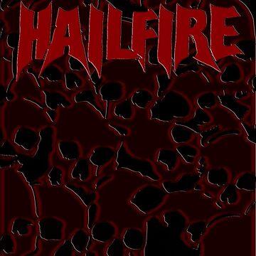 Hailfire Red Skull  by mattwestpfahl