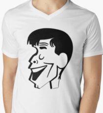 Jerry Lewis caricature Men's V-Neck T-Shirt