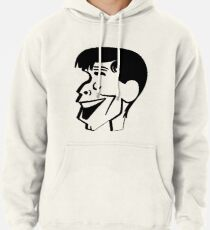 Jerry Lewis caricature Pullover Hoodie