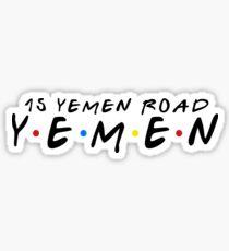 15 YEMEN ROAD YEMEN Sticker
