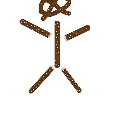 Pretzel Stick Man by rjburke24