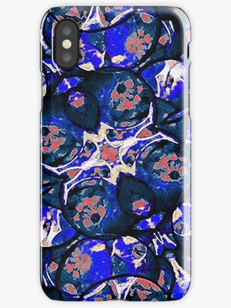 Decorative Retro Style Pattern by DFLC Prints