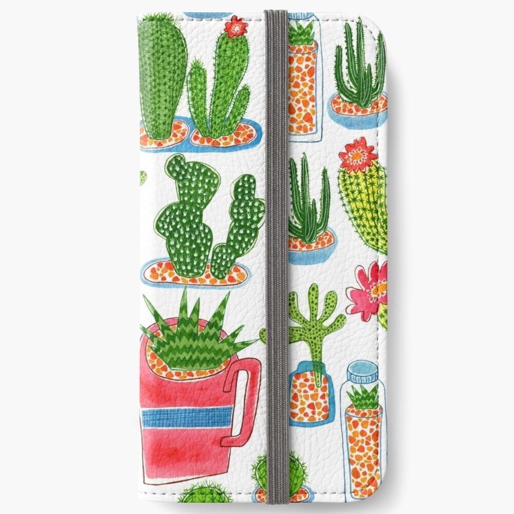 Kaktus iPhone Flip-Case