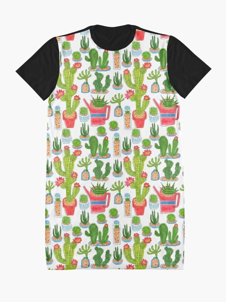 Alternative Ansicht von Kaktus T-Shirt Kleid