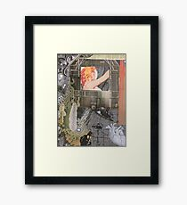 Collage of Home Framed Print