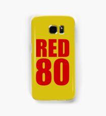 Colin Kaepernick - RED 80 Samsung Galaxy Case/Skin