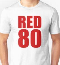 Colin Kaepernick - RED 80 Unisex T-Shirt