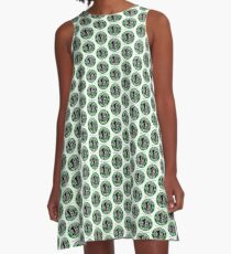 Starbuck's Coffee A-Line Dress