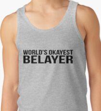 World's okayest Belayer Tank Top