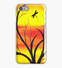 Fire Sunset Sky  iPhone Case/Skin