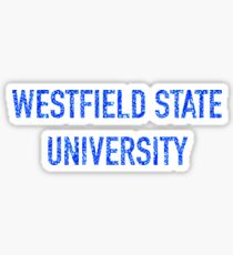 PAISLEY WESTFIELD STATE UNIVERSITY Sticker