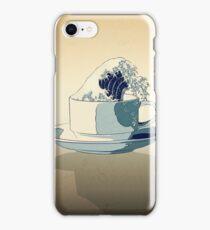 Storm in a Teacup - Tsea-nami! iPhone Case/Skin
