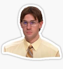 Jim as Dwight Sticker