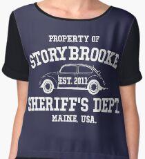 StoryBrooke - Sheriff's Department Chiffon Top