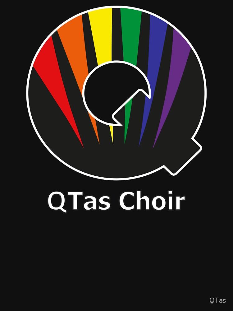 QTas Choir Logo (official choir performance shirt)  | Unisex T-Shirt