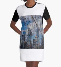 Brooklyn Bridge, New York, USA. Graphic T-Shirt Dress