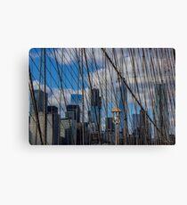 Brooklyn Bridge, New York, USA. Canvas Print