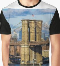 Brooklyn Bridge, New York, USA. Graphic T-Shirt
