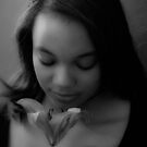 Alyssa B/W by anorth7