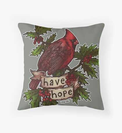 Have Hope Throw Pillow