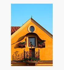 Czech House Photographic Print
